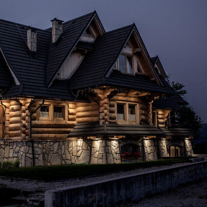 Wierchowa Chata Kościelisko drewniany dom z widokiem na góry 120
